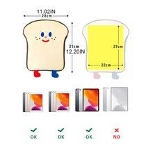 Мультфильм тост планшет защитный чехол ноутбук сумка для ipad Pro 9,7% 2F10.5% 2F11in +