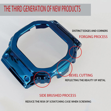 MFG Watch band DW5600 WatchBand Strap & Case Metal Stainless Steel Bracelet Steel Belt Accessories
