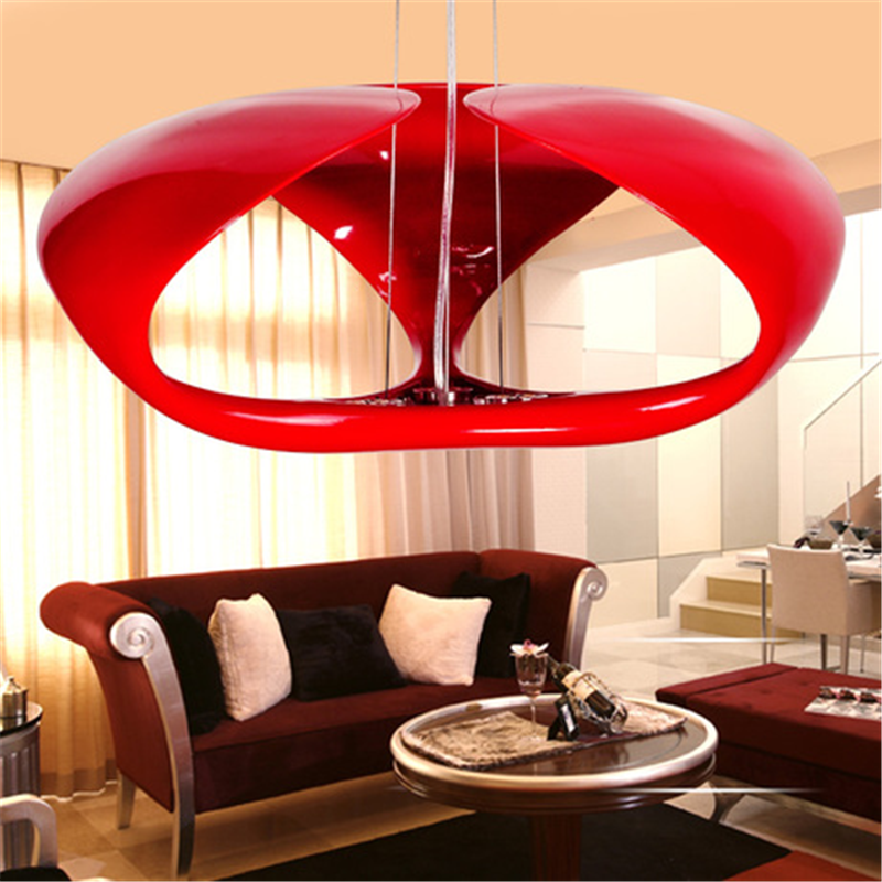Post-modern Resin Lampshade Pendent Lights Living Room Kitchen Hanging Lamps Light Fixtures Bar Studio Decor Lighting Luminaria
