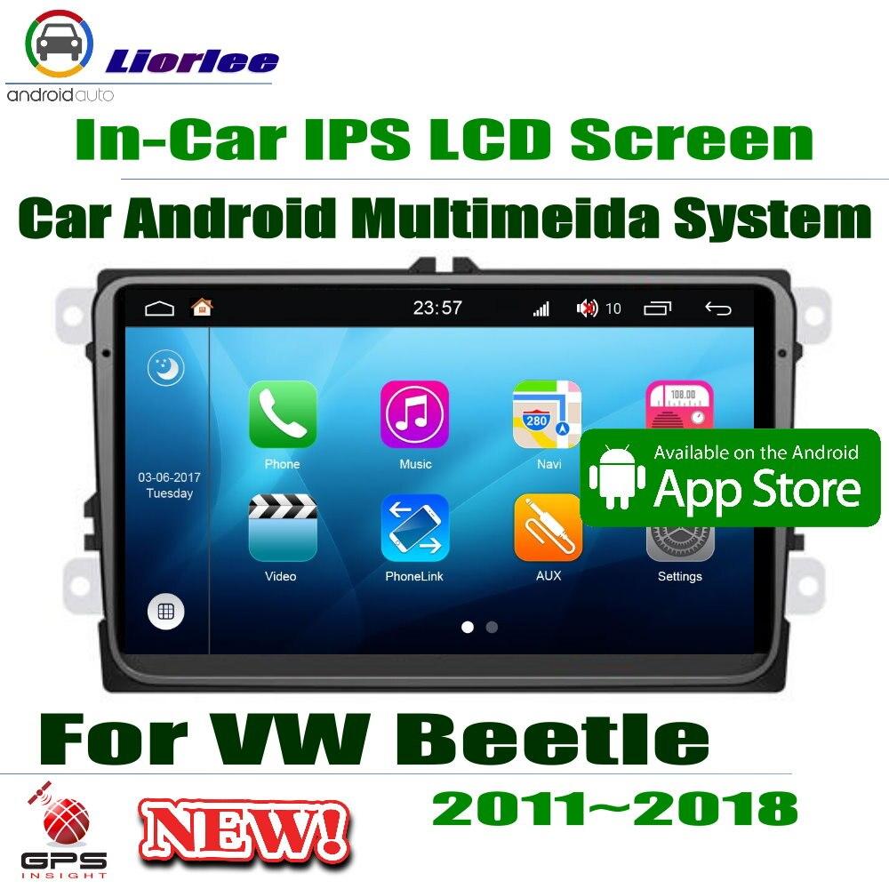 Volkswagen VW coccinelle-lecteur Android 9