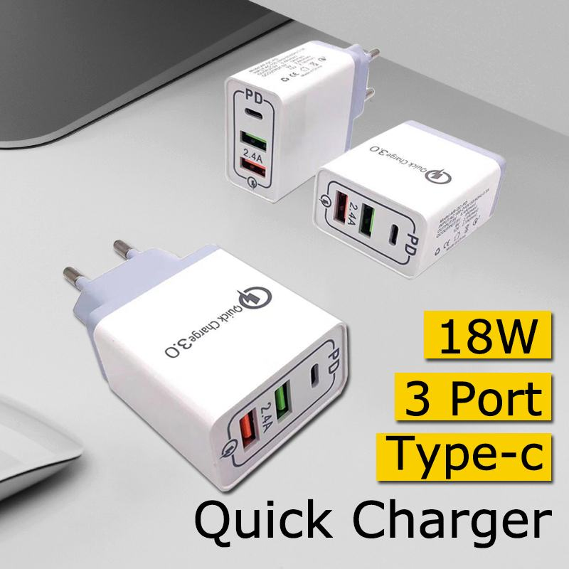 18W PD Fast USB Type-C Wall Charger Power Adapter for Switch Game Console for iPhone 11 iPads for Samsung 32968316891
