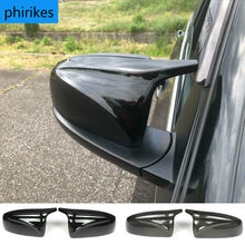 Suitable for BMW X5 E70 X6 E71 rearview mirror 08-13 horn type rearview mirror shell replaceable reversing mirror cover
