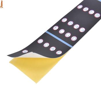 Nowy 1 8-4 4 skrzypce Tone naklejka Fingerboard Marker początkujący dowiedz się skrzypce podstrunnica naklejki skrzypce części akcesoria tanie i dobre opinie GUOMUZI CN (pochodzenie) Do skrzypiec Violin Fingerboard Sticker