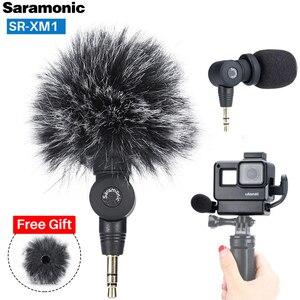Image 1 - Saramonic SR XM1 3.5ミリメートルワイヤレスマイク移動プロvlogビデオマイク移動プロヒーロー9 8 7 6 5 dji osmoアクションosmoポケット