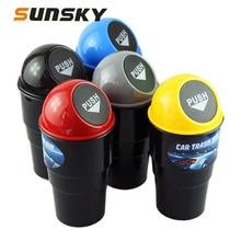 Bin Car-Trash-Bin Bucket Holder Dust-Case Automobile-Storage Auto-Interior-Accessories