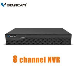 Камера видеонаблюдения VStarcam NVR HD, 8-канальная сетевая камера безопасности, аудио вход, HDMI, 9 каналов, N8209