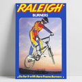 Raleigh горелка, реклама, ретро винтажная автозаправочная станция, магазин гаража, мужская пещера, металлический жестяной знак, настенный худо...