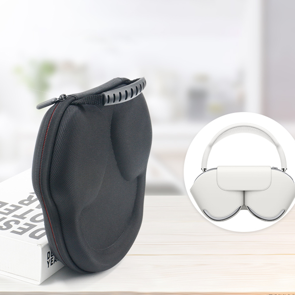 Travel Carry Case for Apple AirPods Max Headphones Waterproof Hard Storage Case Electronic Equipment Protective Pack Case