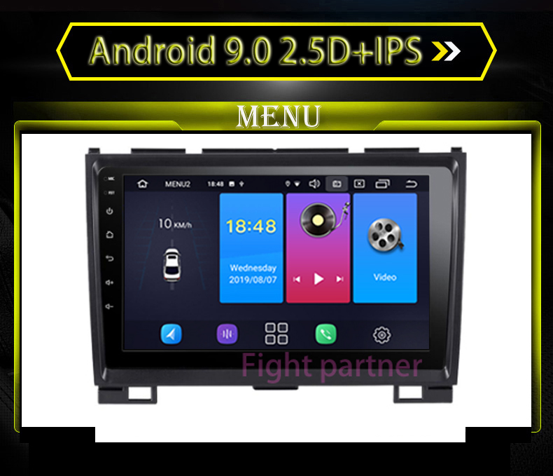 Top Android 9.0 IPS+2.5D Car Dvd Radio For Haval Hover