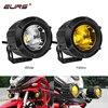 EURS 25W LED Motorcycle Led Headlight Work Light Offroad Lights Spot ATV Auxiliary Motor Fog Driving Lamp Spotlight 3000K 6500K review