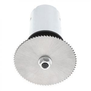 Image 5 - Набор для циркулярной пилы, 24 В, 555 дюйма, с шарикоподшипником, монтажным кронштейном и лезвием для пилы 60 мм для резки, полировки и гравировки