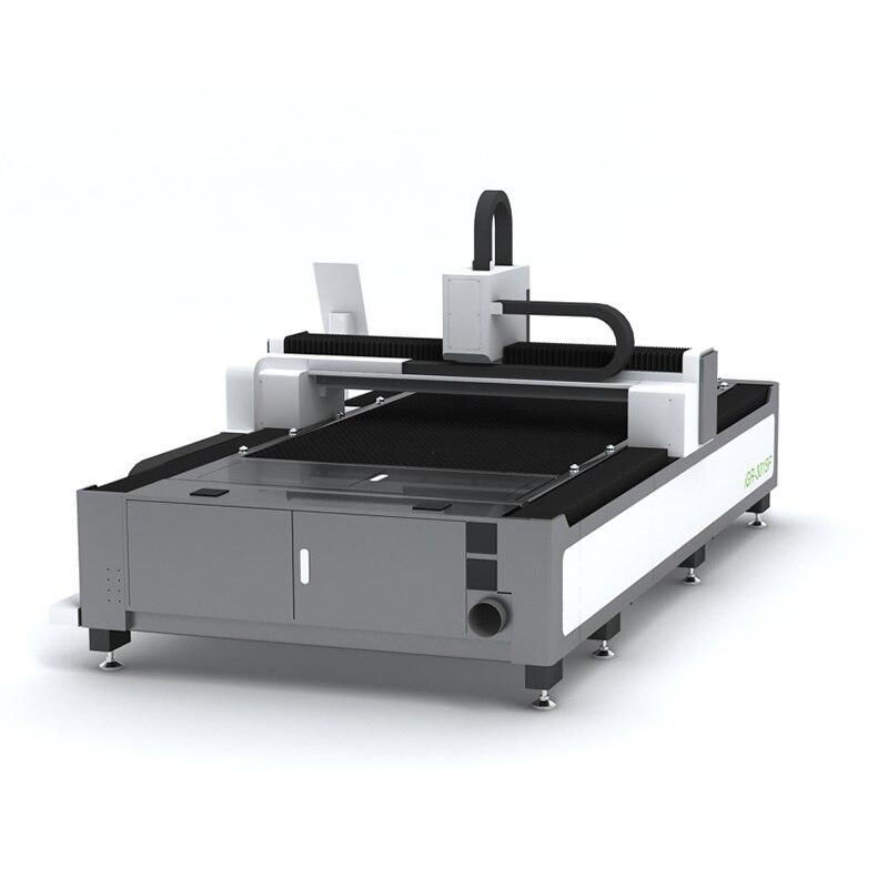 Cortador do laser da fibra do corte da chapa metálica de 1000w, máquina de corte do laser da fibra do cnc da gravura da placa grossa do tubo 1kw do metal