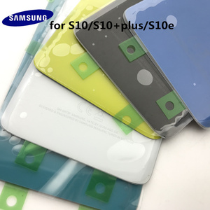Image 5 - Original Samsung Galaxy S10+Plus G970 G975 S10e G973 Back Glass Battery Cover Door Rear Housing Case Replacement+Adhesive Sticke