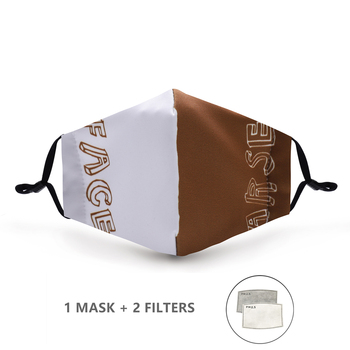 Variation #53 of fashion reusable protective pm2.5 filter printing mouth mask anti dust face mask windproof mouth-muffle bacteria proof flu mask