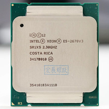 Intel Xeon Processor E5 2670 V3 Cpu 2.3G Dienen Lga 2011-3 E5-2670 V3 2670V3 Pc Desktop Processor cpu Voor X99 Moederbord