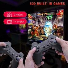 Consolas de videojuegos tetris ps3 joystick 620 em 1 gamestick 4k super console x controlador com jogos