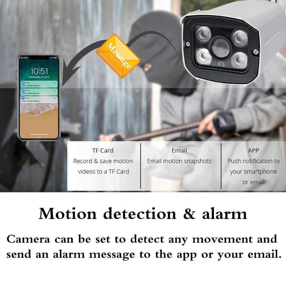 Caméra IP 1080P caméra Wifi extérieure sans fil sécurité à domicile caméra Audio étanche en métal balle caméras enregistrer son Yoosee App