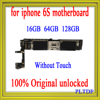 """High Quality, Factory Unlocked for iphone 6S 4.7"""" Motherboard with/without Touch ID,100%Original for iphone 6s Logic board"""