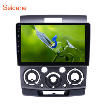 Seicane 9 inch car GPS Radio Android 9.1 for Ford Everest/Ranger Mazda BT-50 2006-2010 With HD Touchscreen support Carplay TPMS image
