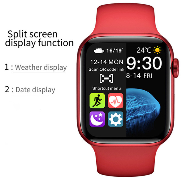 2021 Smart Watch  Sport Smartwatch Men Women Sleep Body Temperature Heart Rate Blood Pressure Monitor Watches For IOS Android 3
