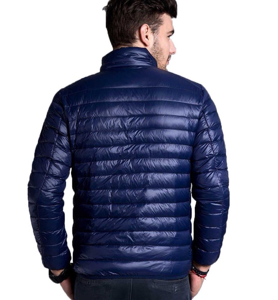 2019 신형 겨울 자켓 파카 남성 가을 겨울 따뜻한 아웃웨어 브랜드 슬림 남성 코트 캐주얼 윈드 브레이커 퀼트 자켓 남성 M-6XL