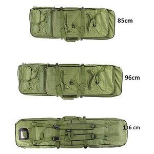 Image 5 - 85 96 120 centimetri di Nylon Del Sacchetto della Pistola di Caso sacchetto di Fucile Zaino per Sniper Carabina Softair Fondina Ripresa Portatile Sacchetti di Caccia accessori