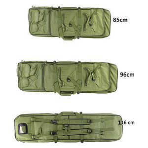 Image 5 - 85 96 120cm Nylon Gun Bag Case Rifle bag Backpack for Sniper Carbine Airsoft Holster Shooting Portable Bags Hunting Accessories