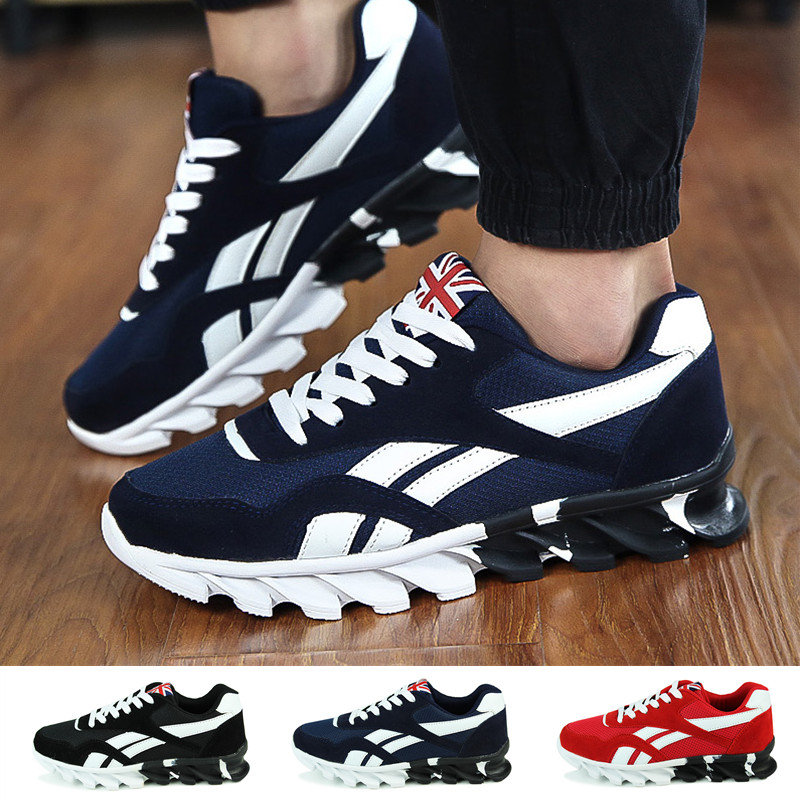 Fashion Mens Womens Breathable Multi-Sports Shoes Shock-absorbing Running Sneakers