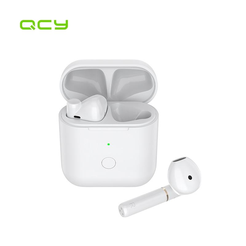 QCY Auriculares deportivos binaurales T8S auriculares inalámbricos con bluetooth, para correr, con batería de larga duración|Auriculares y audífonos| - AliExpress