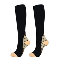 Unisex Compression Socks Fit Sports Compression Socks For Anti Fatigue Pain Relief Knee High Sockings For Men Women New