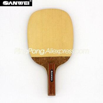 SANWEI R2 (1 Ply HINOKI) SANWEI Table Tennis Blade Japanese Penhold Solid Cypress HINOKI Racket JS SANWEI Ping Pong Bat Paddle