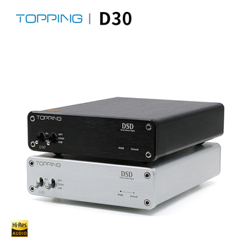 TOPPING D30 HIFI DSD DAC Amp Decoder CS4398 XMOS USB DAC Audio Decoder Coaxial Optical Fiber 24Bit/192KHz