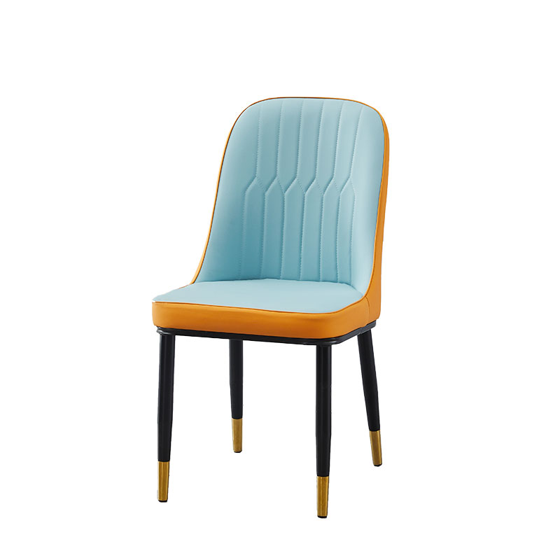 Nordic Style Light Luxury Dining Chair Home Modern Simple Ins Net Red Back Stool Simple Post-modern Iron Chair