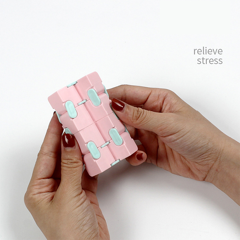 Puzzle Toy Maze-Toy Magic Cube Stress Fingertips Infinity Game Square Four-Corner Funny img4
