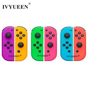 Image 1 - IVYUEEN 닌텐도 스위치 NS JoyCon 조이 콘 컨트롤러 교체 하우징 쉘 케이스 NintendoSwitch 녹색 보라색 커버