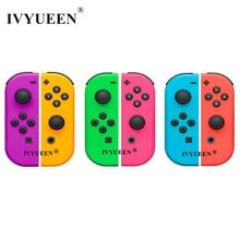 IVYUEEN pour Nintendo Switch NS JoyCon Joy Con contrôleur boîtier de remplacement coque pour NintendoSwitch vert violet couverture