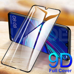 9D Tempered Glass For Huawei Y5 Y6 Y7 Y9 Prime 2018 2019 Glass Screen Protector Huawei Y5 Lite Safety Protective Glass Film Case