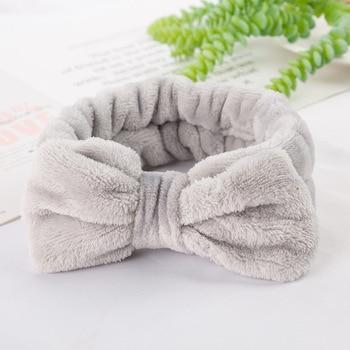 Coral Fleece Soft Headband Cross Top Kont Hairband Elastic Hair Band For Women Girls Wash Face Turban Headwear Hair Accessories 5