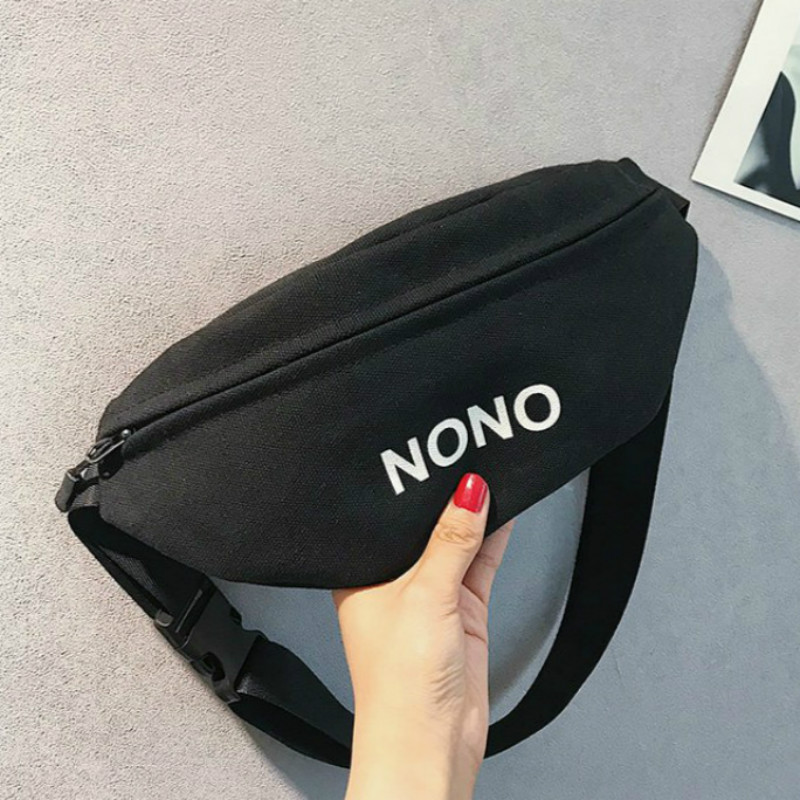 New Fashion Women's Waist Bags Unisex Casual Multifunction Canvas Fanny Packs Multi Belt Bag Chest Bag Men's Waist Packs