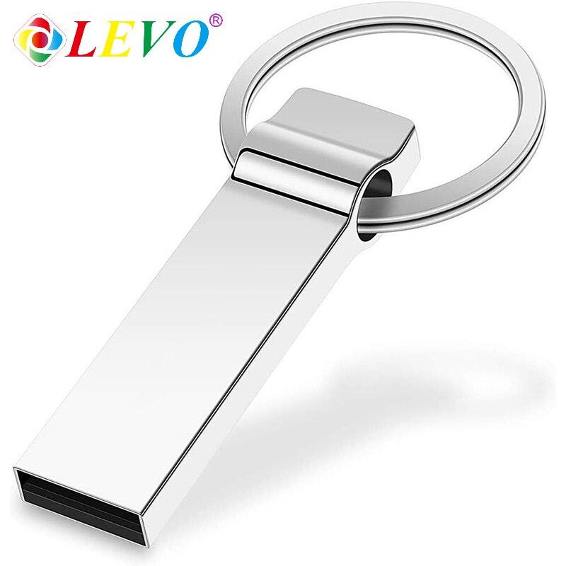 Usb Metal High Speed Flash Drive 32GB Usb2.0 Metal Pen Drive 64gb Pendrive 128GB 8GB 16GB Usb Stick Gift Usb Flash Drive