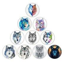 10 шт круглые разноцветные стеклянные кабошоны 12 30 мм