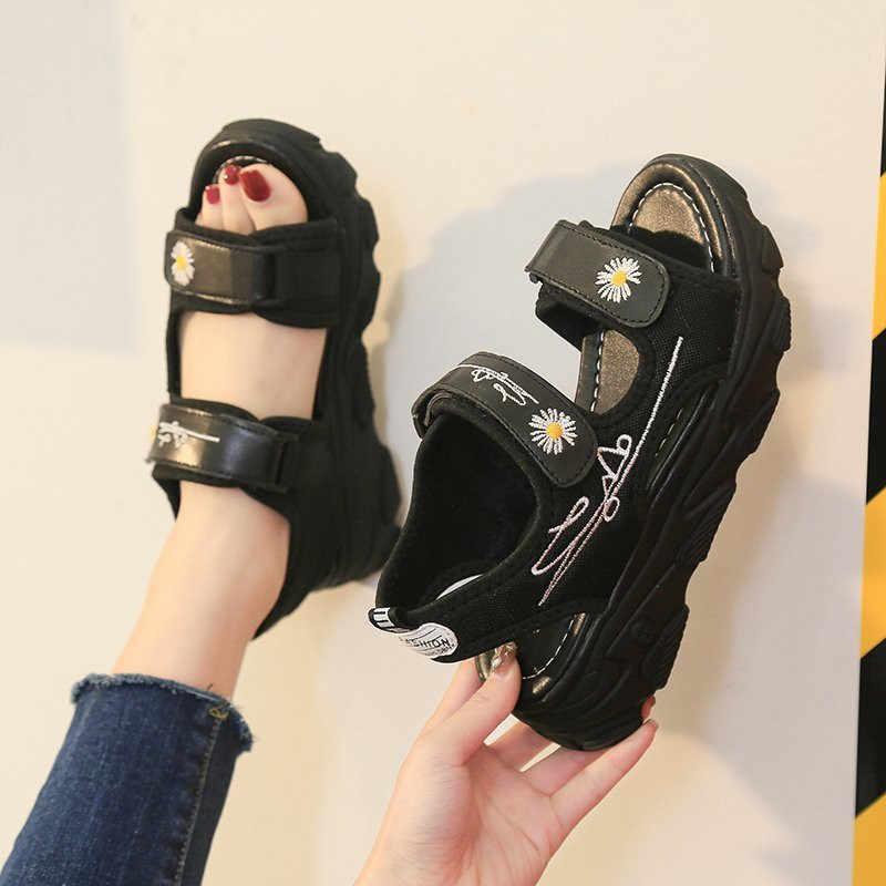 夏女性のサンダルの靴プラットフォームカジュアルスニーカー女性の加硫靴のファッションの女性の靴クール靴2020New到着
