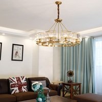 Modern crystal A/B type E14 chandelier Residential & Commercial & Office Lighting Lamps & Home residential lighting
