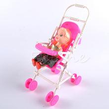 3 шт Топ бренд сборки Детские коляски тележка детская игрушечная