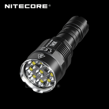 9500 لومينز NITECORE TM9K 9 x كري XP L HD V6 المصابيح الترا المدمجة التكتيكية مصباح يدوي مدمج 21700 ليثيوم أيون 5000mAh البطارية