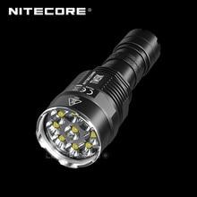9500ルーメンnitecore TM9K 9 × cree XP L hd V6 led超コンパクトタクティカルフラッシュライト内蔵21700リチウムイオン5000バッテリー