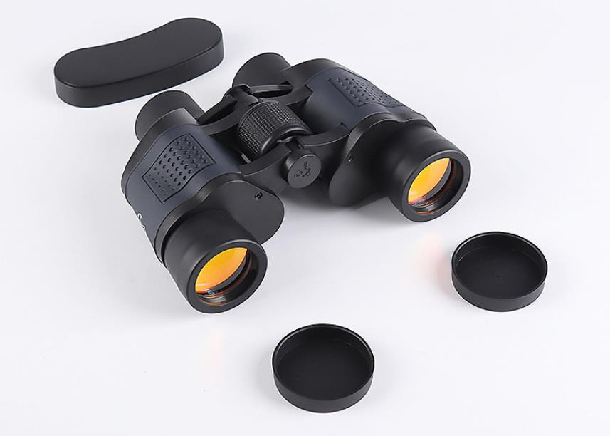 Portable outdoor high power telescope 60?60 binoculars LLL night vision camping excursion observation waterproof can be connecte