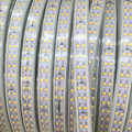 Étanche IP68 Double rangée 220 240V 100M 2835 Led bande lumineuse 180 leds/m bande froide/neutre/blanc chaud extérieur haute luminosité