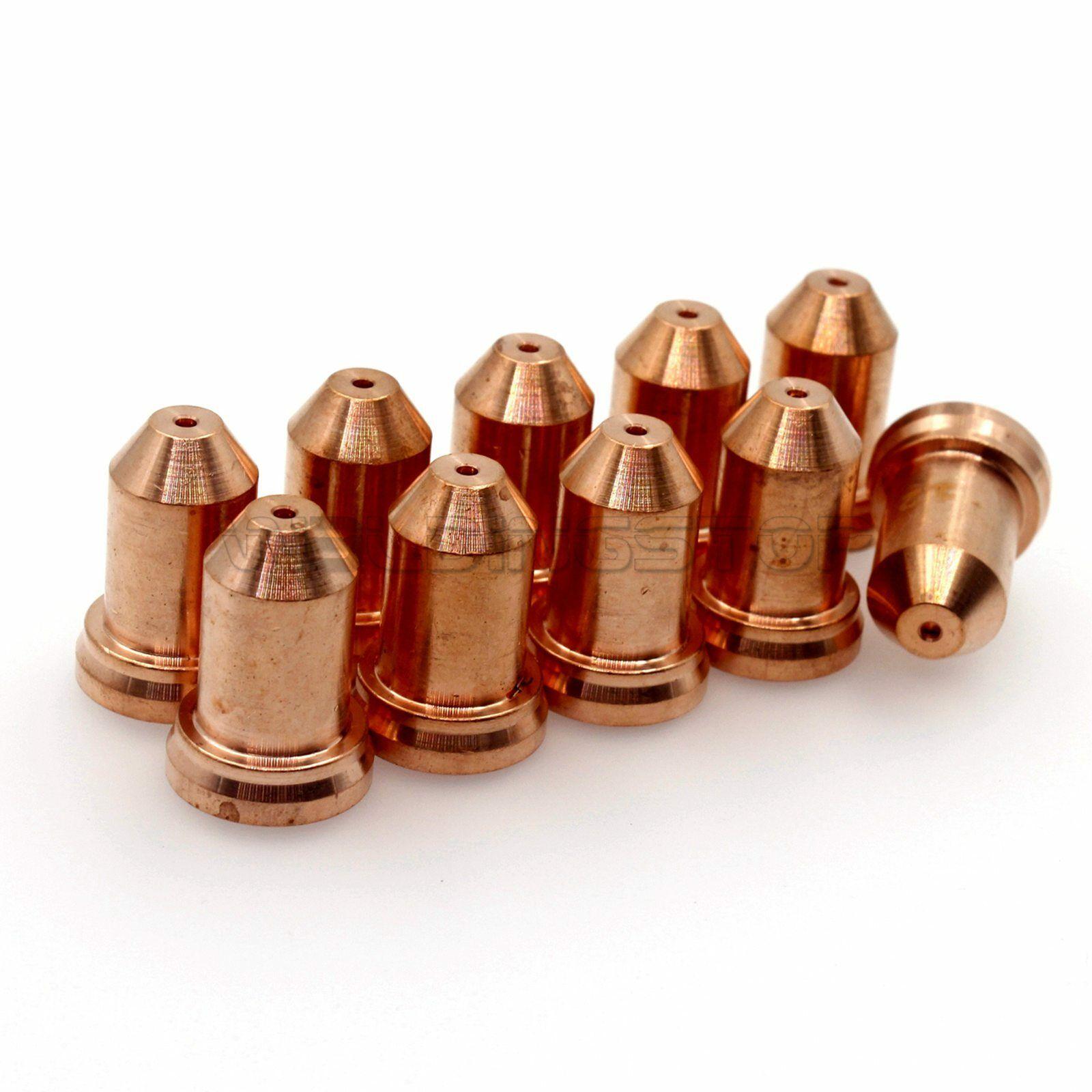 51311.12 / VU0670-12 PT-80 IPT-80 PTM-80 Nozzle Tips WS Plasma Cutting Torch Consumables Nozzle PKG/10