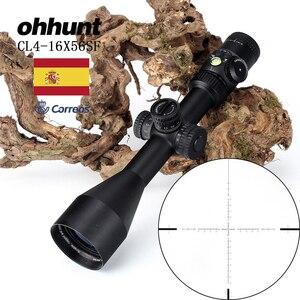 Image 1 - 狩猟ohhunt cl 4 16X56 sf光学riflescopesガラスエッチングレチクルサイド視差タレットロックリセットスコープバブルレベル